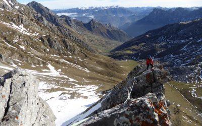 Tuiza de Arriba – Refugio del Meicín – Portillín Oriental (2.229 m.) (Picos del Portillín) (Arista sureste)
