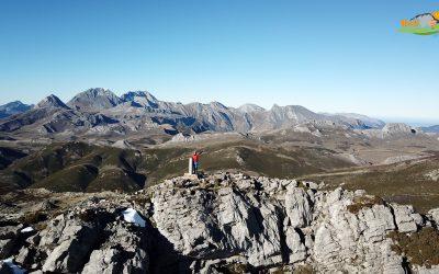 Caldas de Luna – Peña La Genestosa (1.963 m) – La Peñona (2.038 m) – Peña de la Silla (2.059 m) – Pico Cirbanal (2.077 m)