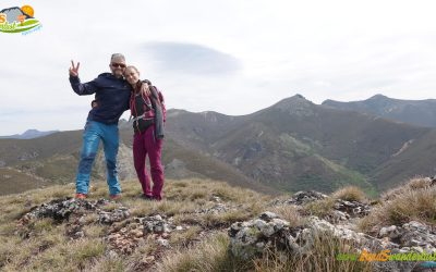 Lazado – Peñas Las Águilas (1.845 m) – Alto de la Curiscada (1.889 m) – Pico Paxarín (1.885 m) – Refugio de la Curiscada