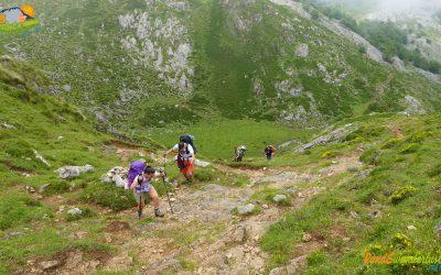 Lagos de Covadonga – Majada Las Bobias – Cuesta de las Reblagas – Collado El Jito – Refugio Vega de Ario (2)