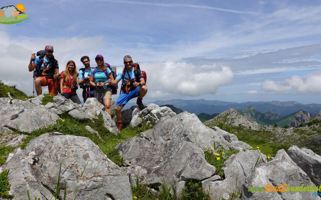 Lagos de Covadonga – Refugio Vega de Ario – Pico Jultayu (1.939 m) – Majada Moandi – Vega Maor – Majada Arnaedo – Majada Belbín – Majada La Llomba